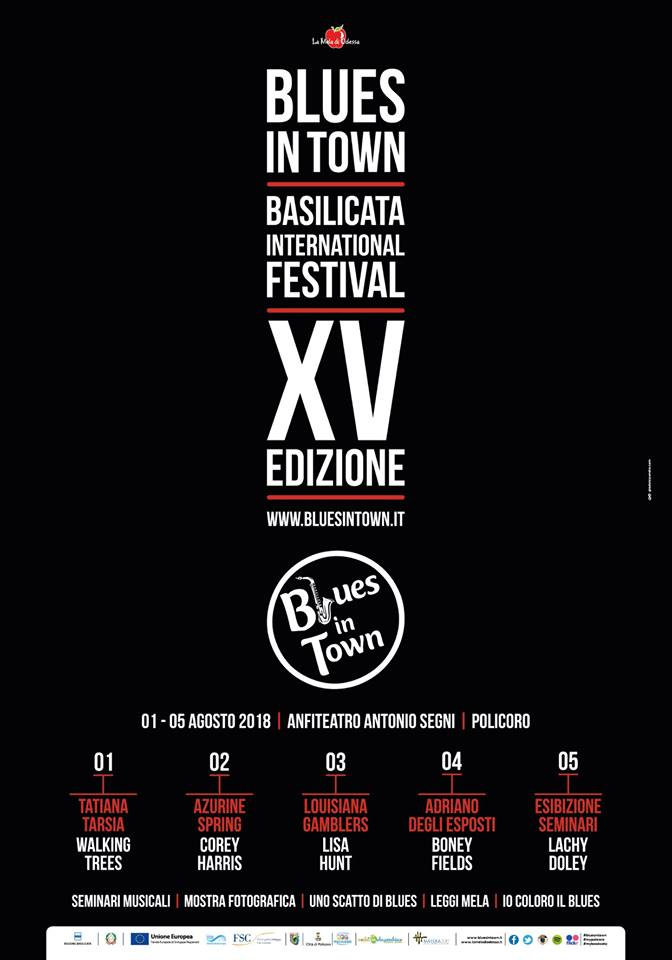 Blues in Town - XV EDIZIONE